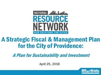 providence fiscal plan report