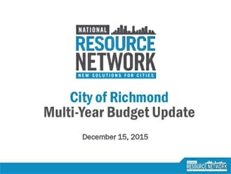 richmond budget 2015