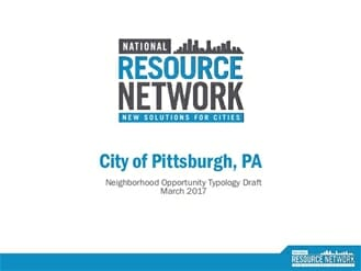 pittsburgh typology report